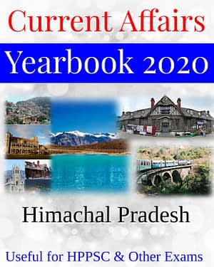 HPPSC Himachal Pradesh Current Affairs Yearbook 2020