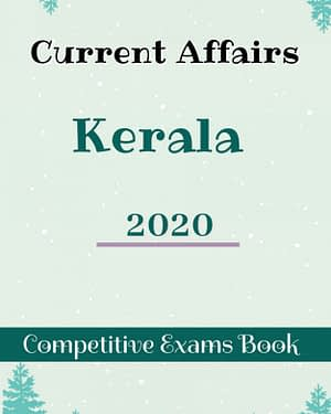 KPSC Kerala Current Affairs Yearbook 2020