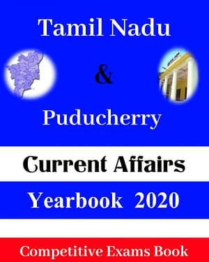 Tamil Nadu & Puducherry Current Affairs Yearbook 2020