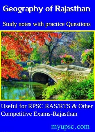 Rajasthan Geography RPSC RAS- Geography of Rajasthan