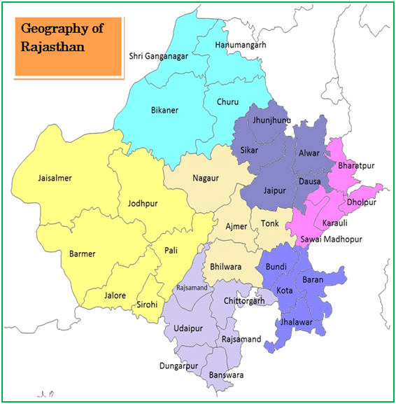 Introduction Geography of Rajasthan