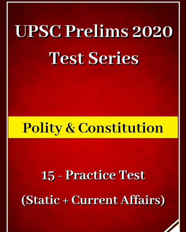 Polity UPSC Prelims Questions