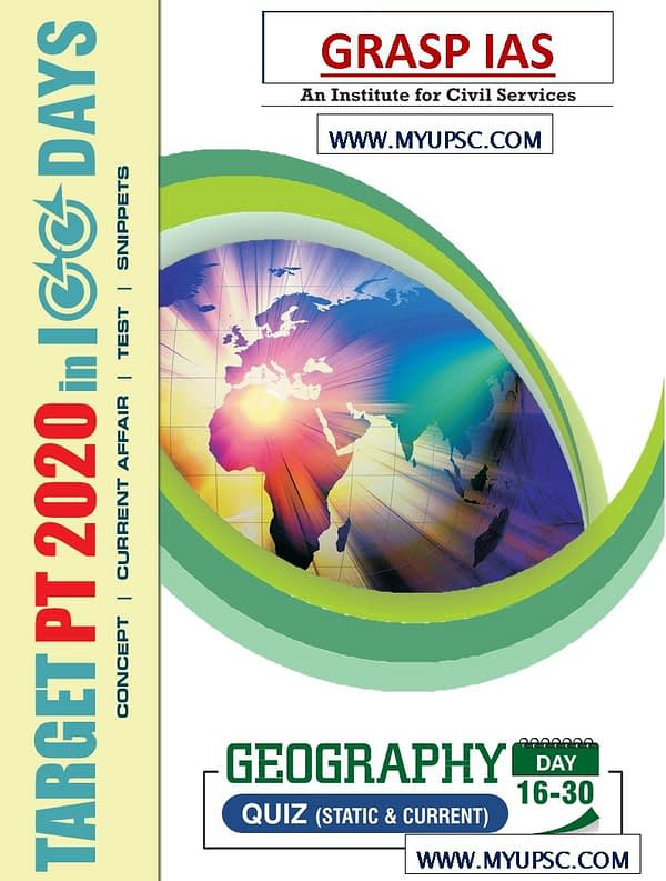 PT 2020 in 100 days: UPSC Prelims: day 16-30 MCQs