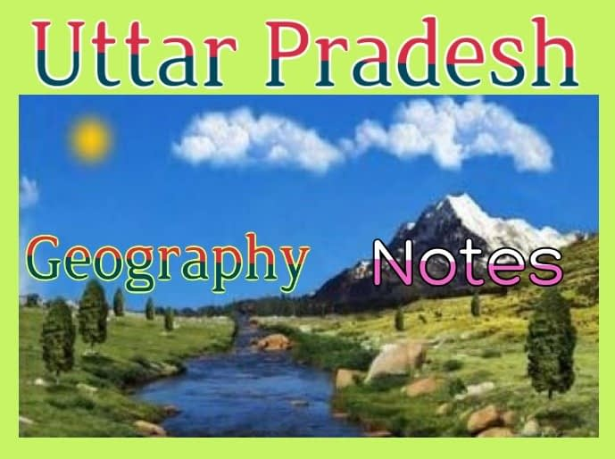 geography-of-uttar-pradesh-notes