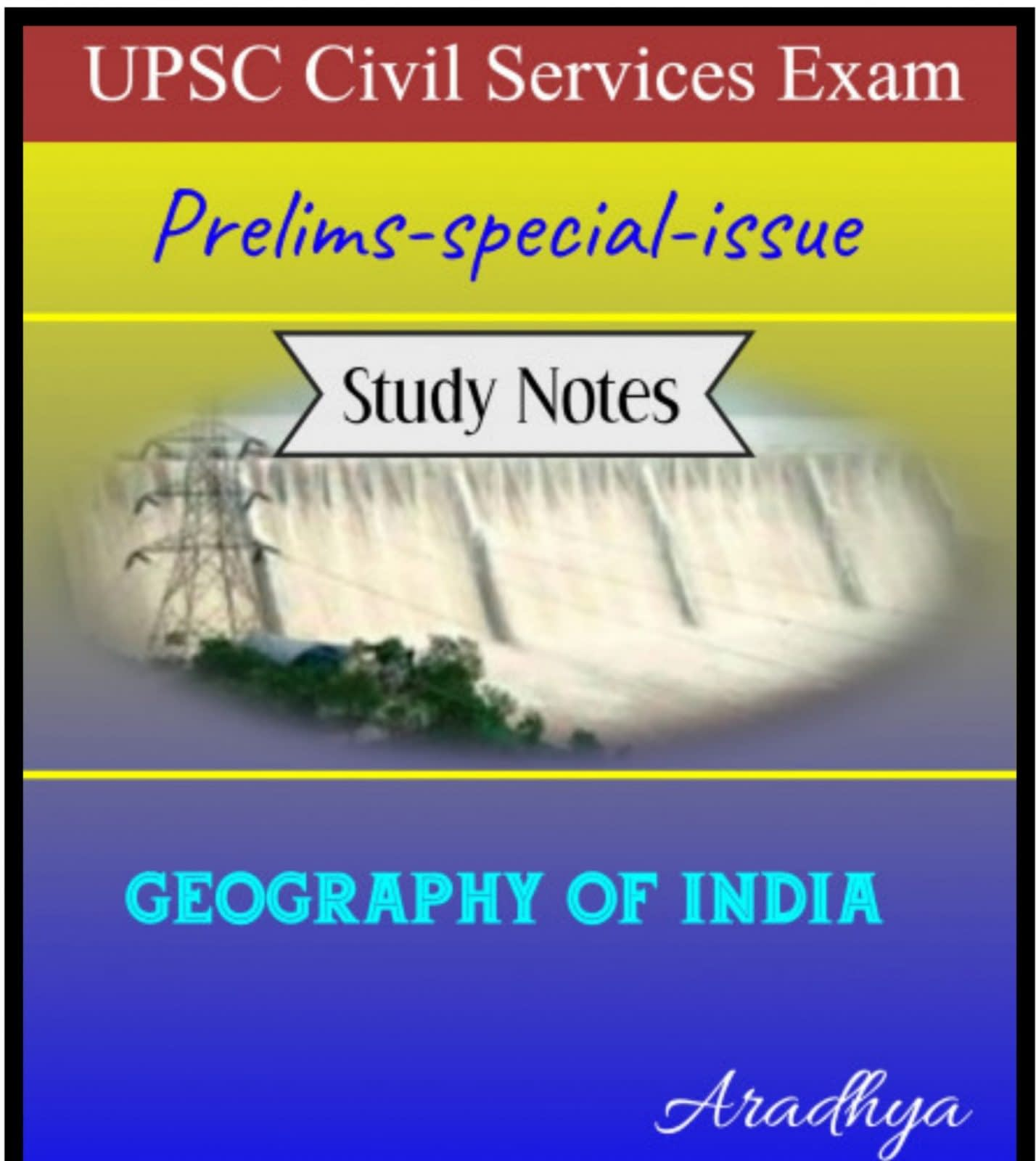 Geography of India-IAS Prelims 2019