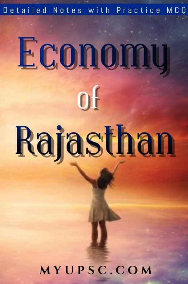 Economy of Rajasthan Study Notes with Practice MCQ