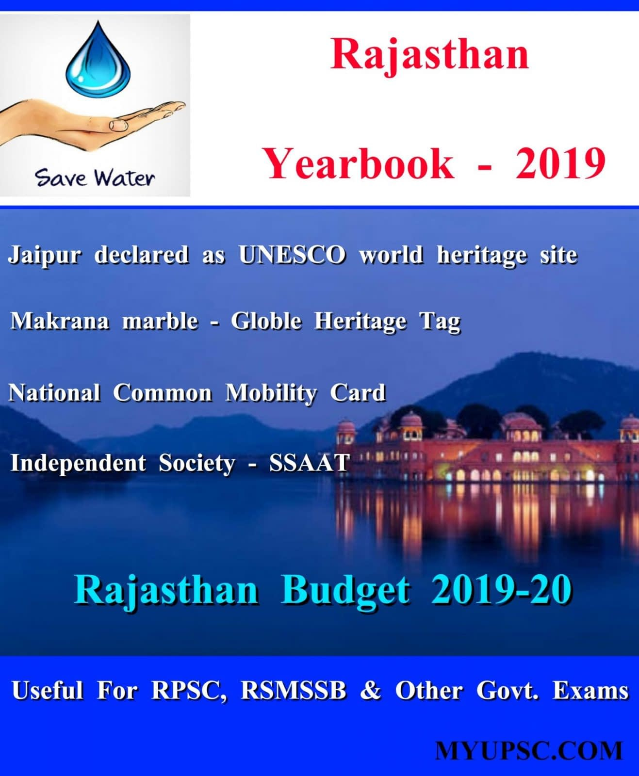 Rajasthan Current Affairs Yearbook-2019