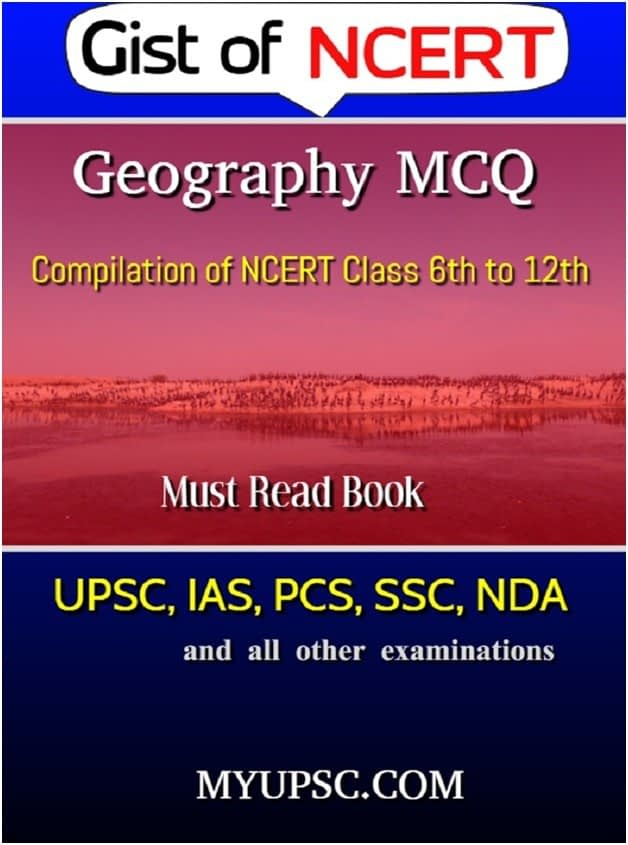 Indian Geography-NCERT MCQ Compilation Class 6-12th