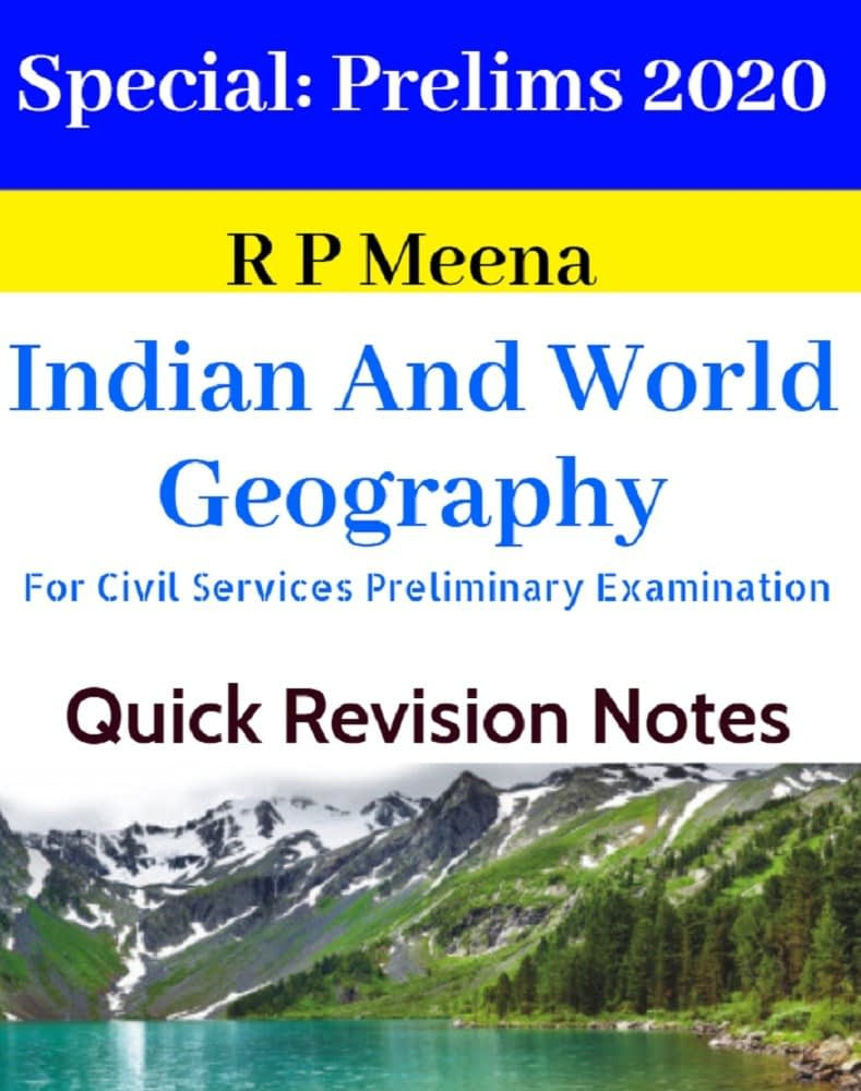 Indian And World Geography Current Affairs Yearbook 2020