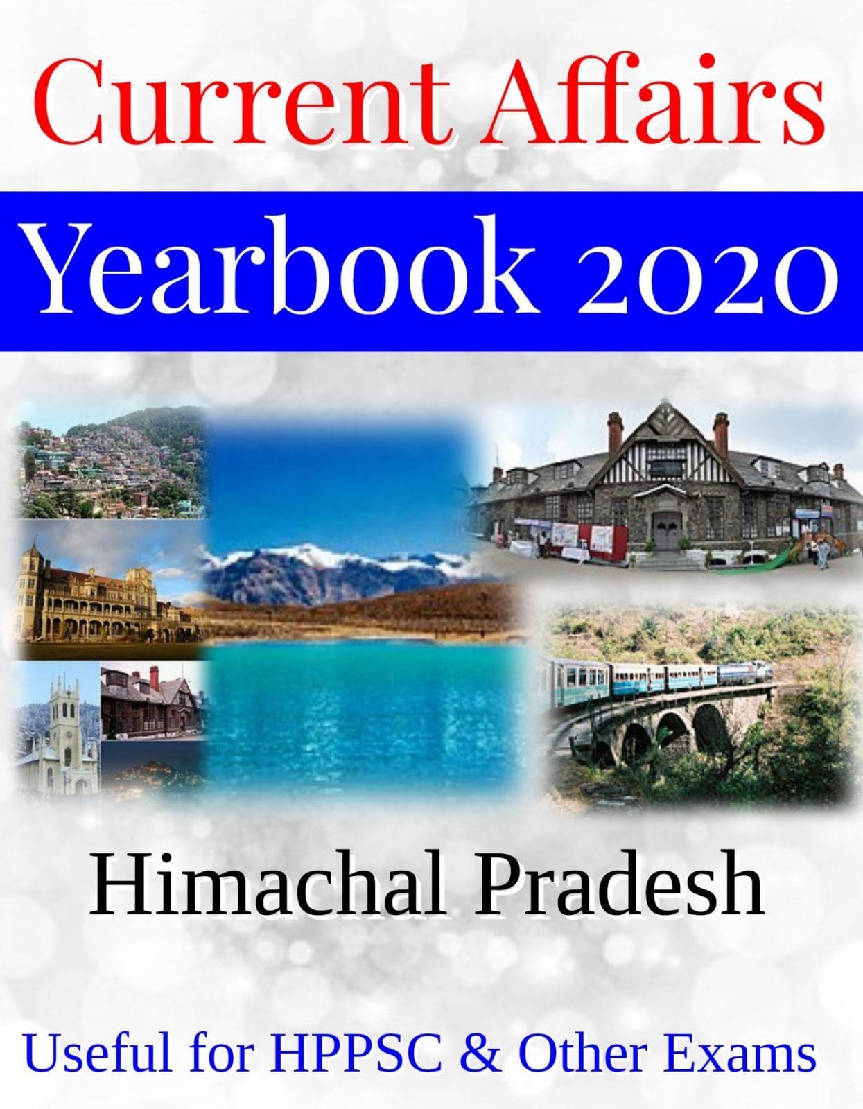 Himachal Pradesh Current Affairs Yearbook 2020