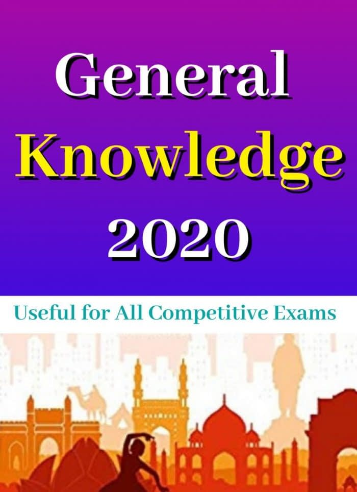 India General Knowledge Yearbook 2020