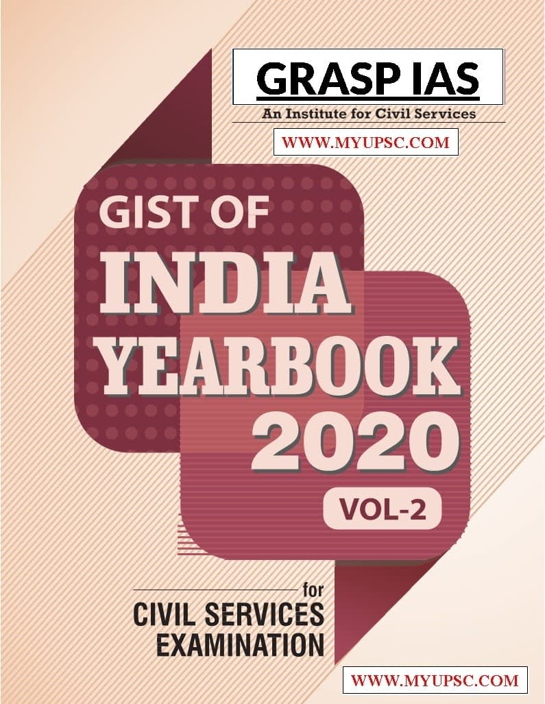(Free) India Yearbook 2020-21 Vol-2 for Civil Services Examination